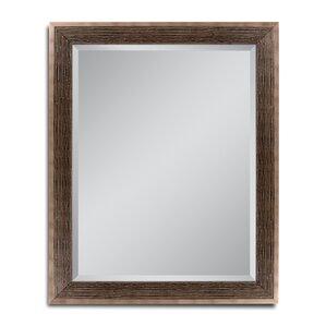 rustic bathroom mirrors. Driftwood Wall Mounted Mirror Bathroom  Vanity Rustic Mirrors You ll Love Wayfair