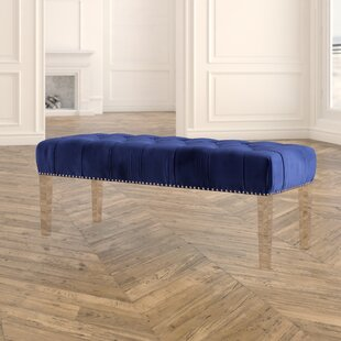 Sowers Upholstered Bench by Everly Quinn