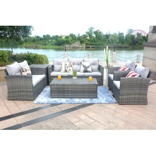 Medford 6 Piece Sectional Set with Cushions by Brayden Studio