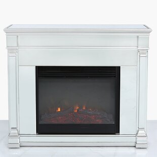 Sotelo Mirrored Electric Fire Suite By Canora Grey