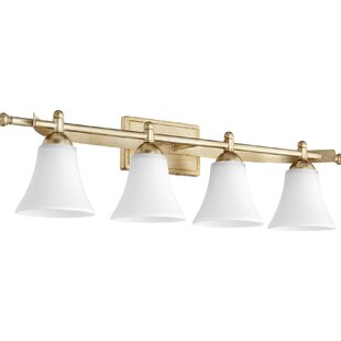 Buy luxury Eastchester Traditional 4-Light Vanity Light By Alcott Hill