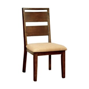 Tan Solid Wood Dining Chair (Set of 2) by..