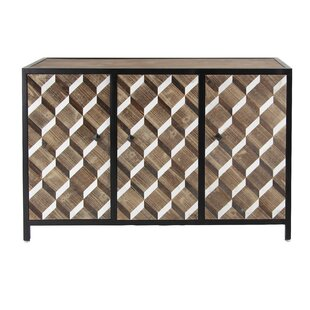 Wiliams Contemporary Rectangular 3 Door Accent Cabinet by Brayden Studio