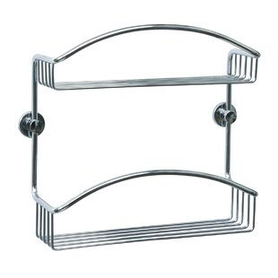 no drilling required Draad Shower Caddy