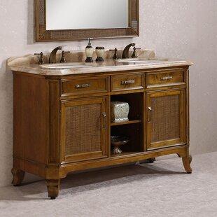 Seminole 64 Double Bathroom Vanity Set by Astoria Grand