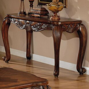 Gravely Traditional Solid Wooden Console Table