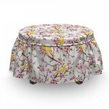 Spring Concept Ottoman Slipcover (Set of 2) by East Urban Home