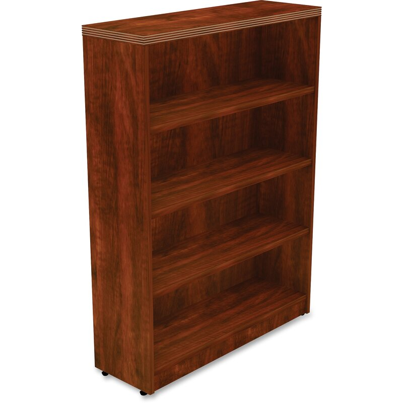Lorell Chateau Standard Bookcase Wayfair