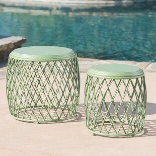Biehl 2 Piece Nesting Tables (Set of 2) by Ivy Bronx