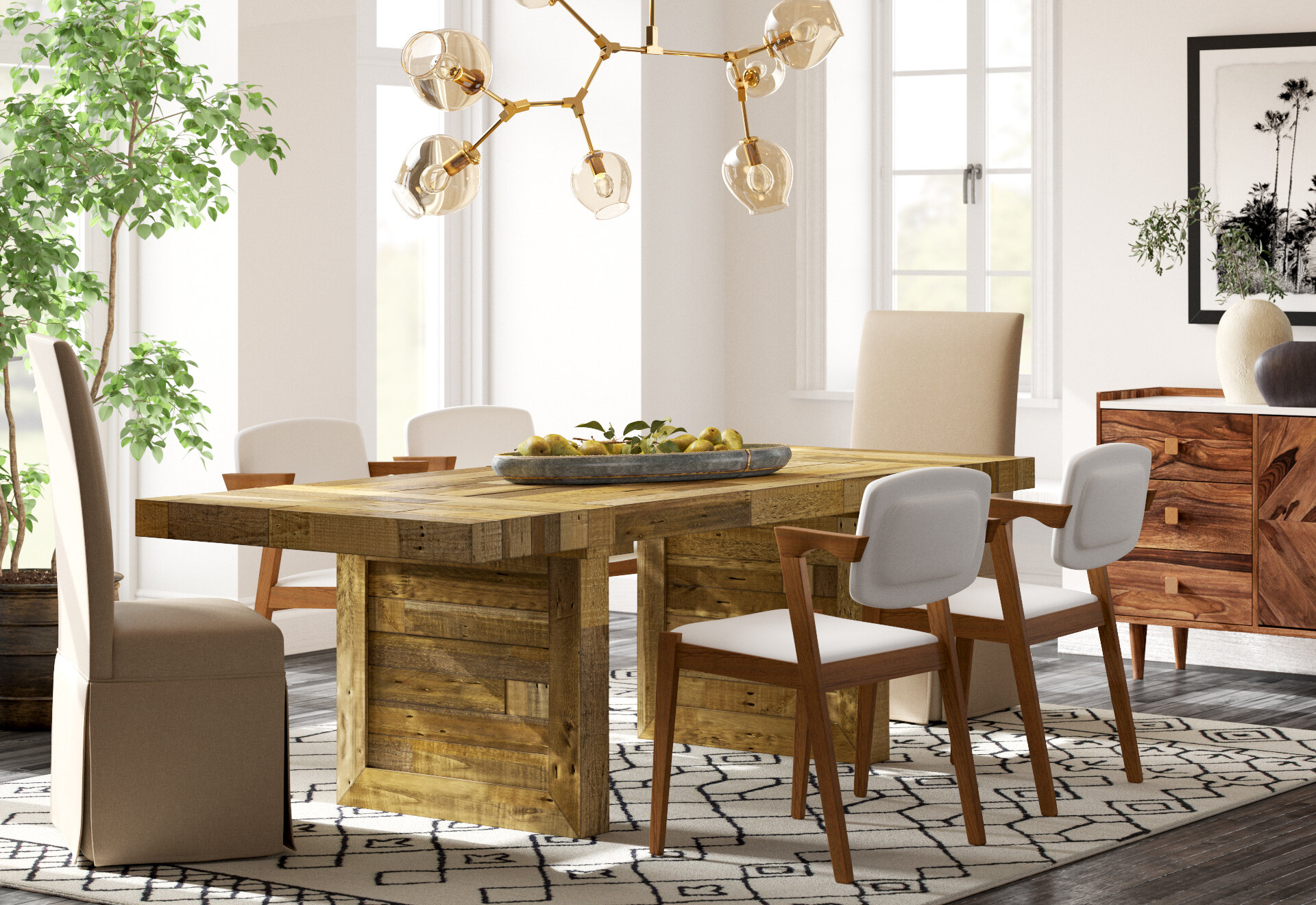 How to Mix & Match Dining Chairs  Joss & Main