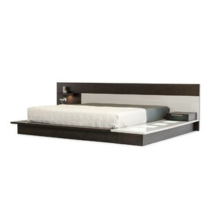 Orren Ellis Christiansen California King Platform Bed with Light