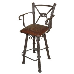 Lower Vobster 30 Swivel Bar Stool (Set of 2) 17 Stories