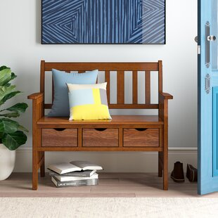 Crest Storage Bench by Hokku Designs