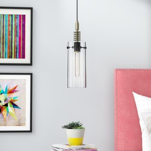 Conesville 1-Light Cylinder Pendant by Ivy Bronx
