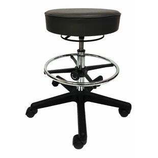 Pellegrino Vinyl Height Adjustable Lab Stool by Latitude Run 2019 Online