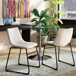 Affordable Price Hetherton Upholstered Dining Chair by Ivy Bronx