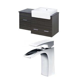 Hindman 37 Wall-Mounted Single Bathroom Vanity Set By Royal Purple Bath Kitchen