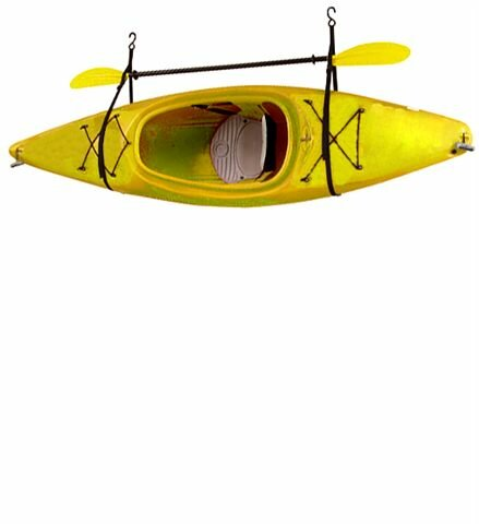 Superior Kayak / Canoe Storage And Portage Hang 1 Deluxe Strap Storage System  Ceiling/Wall Mounted
