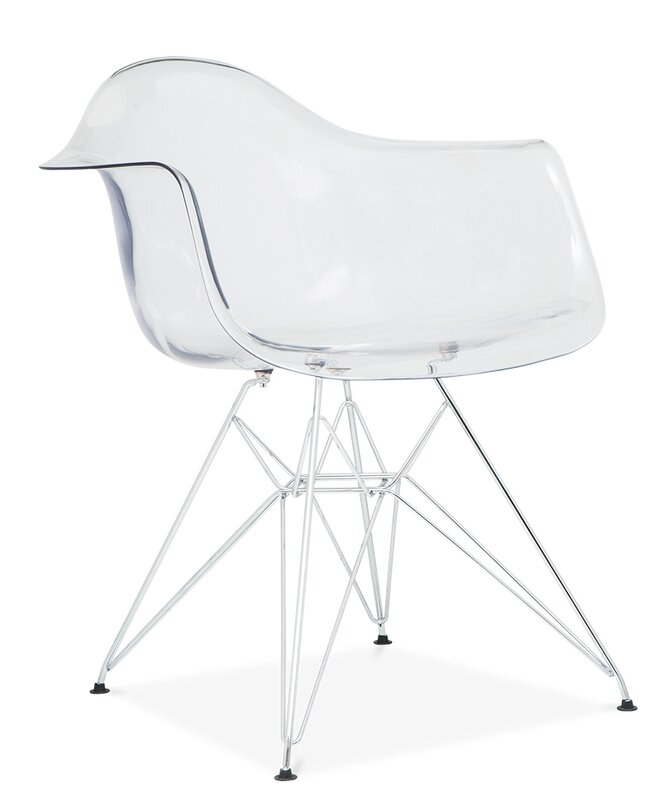 Quast Modern Acrylic Dining Chair By Orren Ellis Best