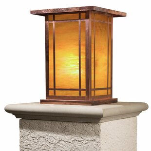 Edgao Summit Column Mount 1-Light Lantern Head by Loon Peak
