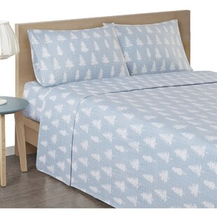 Bryan Cozy Flannel Cotton Sheet Set