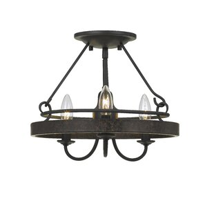 Beuvron 3-Light Candle Style Chandelier