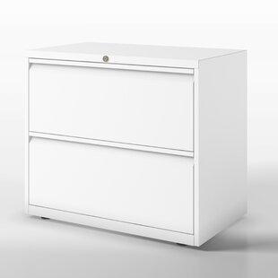 Essentials 2 Drawer Filing Cabinet By Bisley