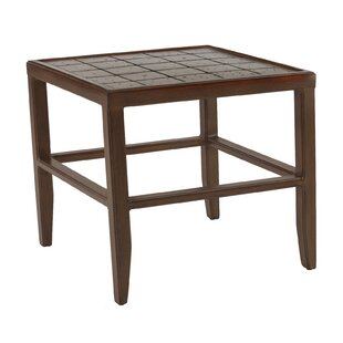 Heritage Aluminum Side Table by Leona