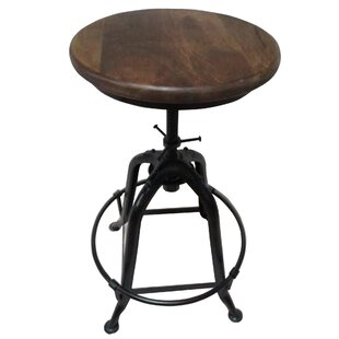 Motta Adjustable Height Swivel Bar Stool