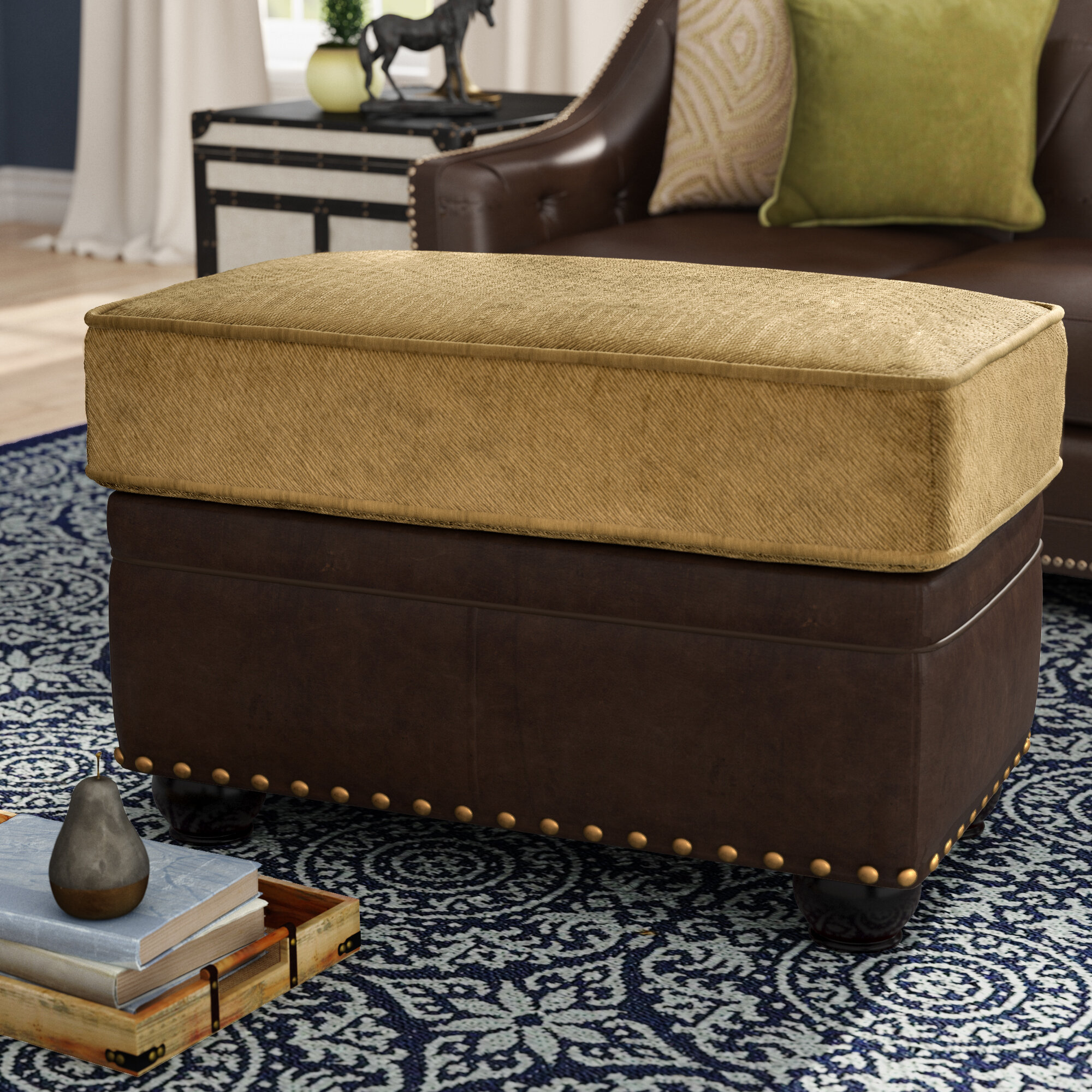 Surprising Darby Home Co Simmons Upholstery Aurora Ottoman Wayfair Pabps2019 Chair Design Images Pabps2019Com