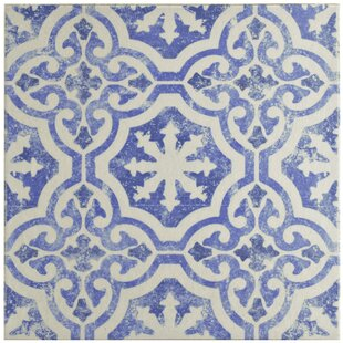 Interior Blue And White Tile blue and white tile wayfair shale 12 75 x ceramic field in whiteblue