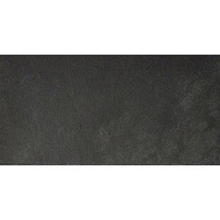 Black Bliss 6 X 12 Slate Field Tile In