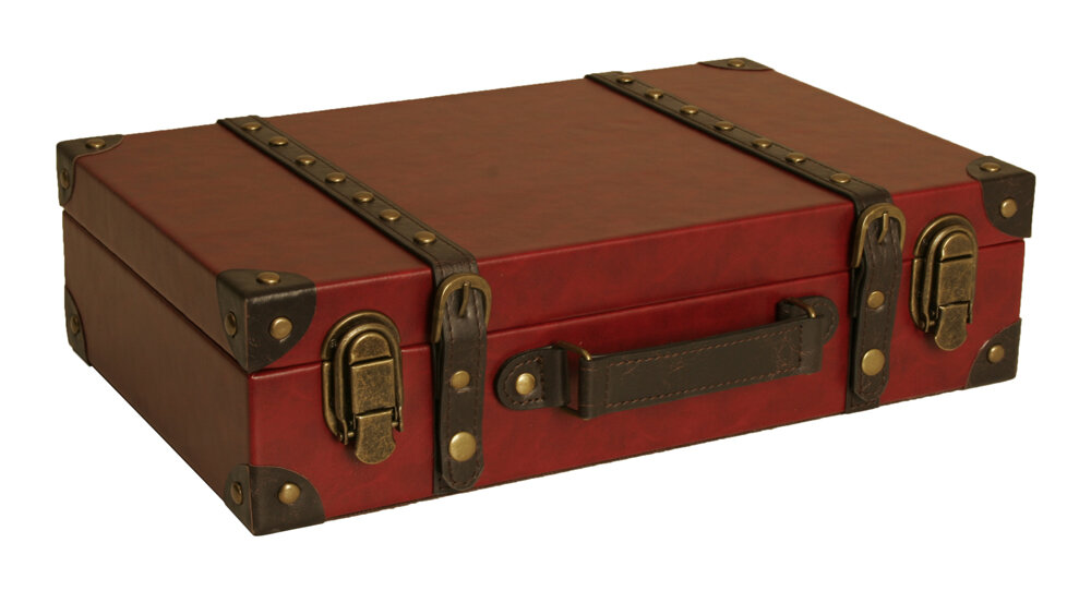 Keel Suitcase Trunk By Charlton Home