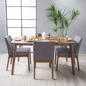 Black Dining Room Sets Modern modern dining room sets you'll love   wayfair