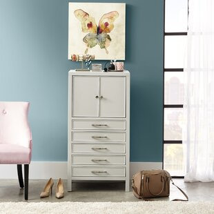 Woen 5 Drawer Free Standing Jewelry Armoire