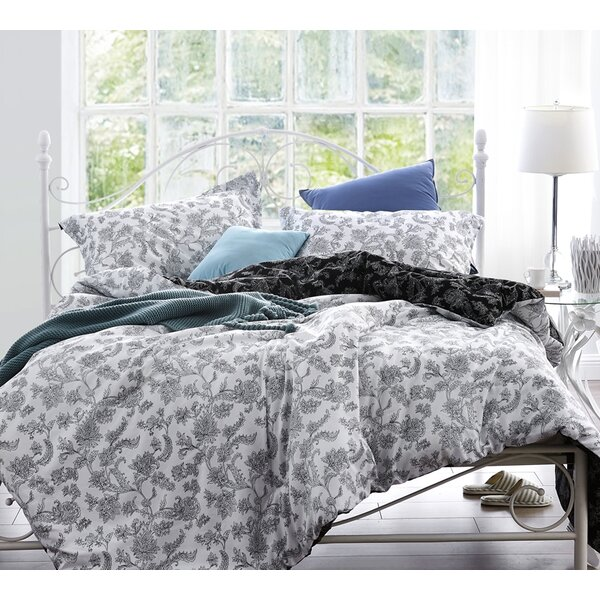 Andover Mills Lucas 100 Percents Cotton Reversible Bedding Set & Reviews by Andover Mills
