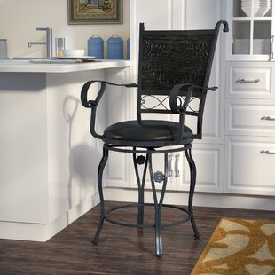 Bradenton Counter 24 Swivel Bar Stool Fleur De Lis Living