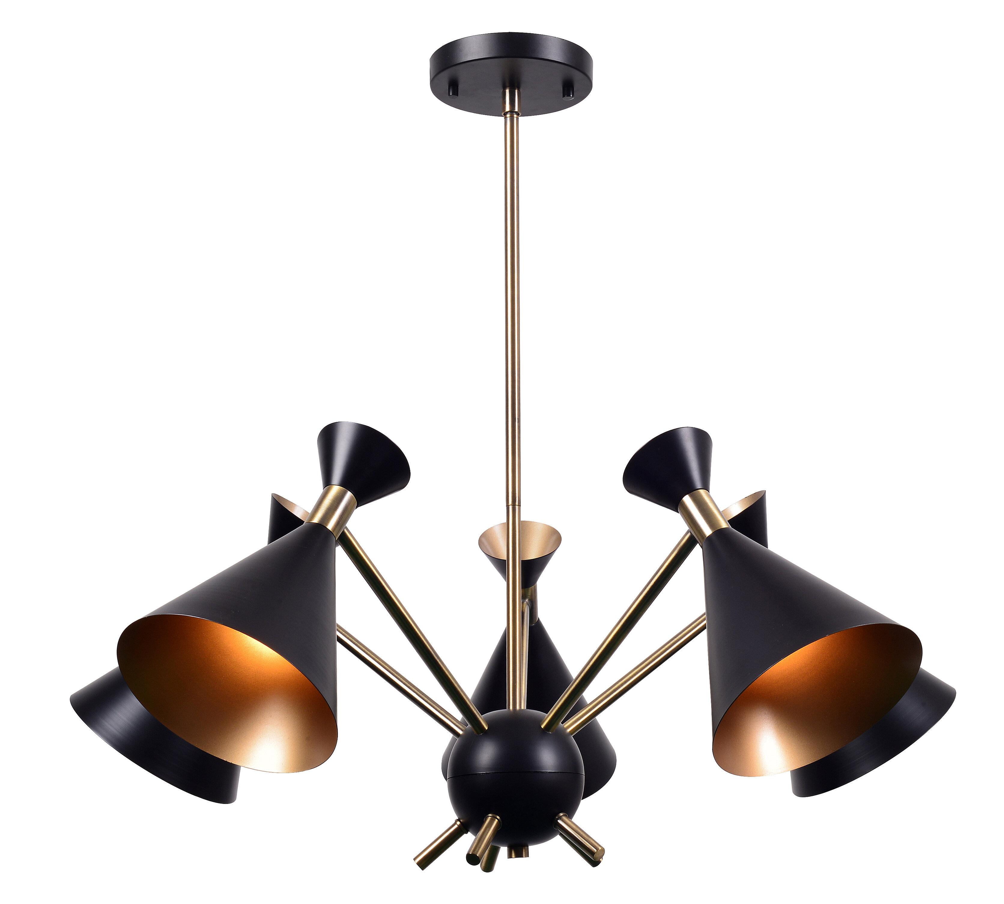 newest 7d770 4834e Ryan 5-Light Sputnik Chandelier