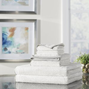 Wayfair Basics 6 Piece Quick Dry Towel Set Part 88