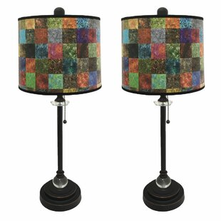 Ladetto Crystal 28 Buffet Lamp (Set Of 2) by Red Barrel Studio Discount