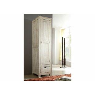 1 Door Wardrobe By Massivmoebel24