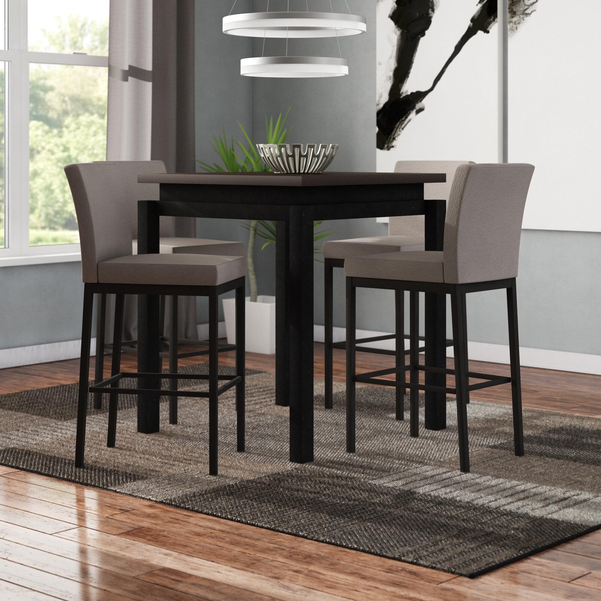 Picture of: Latitude Run Stedman 5 Piece Pub Table Set Wayfair