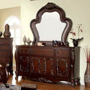 Kiro 6 Drawer Dresser with Mirror