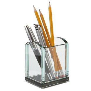 Rebrilliant Macy Executive Glass Pencil Cup (Set of 16)