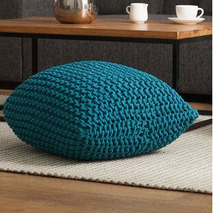 Roche Pouf Ottoman by Rosecliff Heights