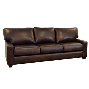 Shop Kenmore Studio Leather Sofa by Westland and Birch