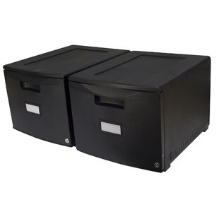 Storex 1-Drawer Lateral Filing..