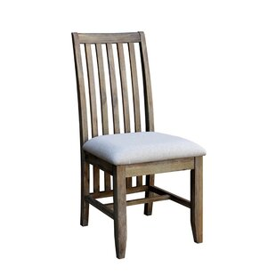 Gracie Oaks Lihua Solid Wood Dining Chair (Set of 2)