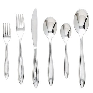 Fontur Platinum 42 Piece 18/10 Stainless Steel Flatware Set, Service for 8