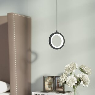 Wade Logan Colindale 1-Light LED Geometric Pendant